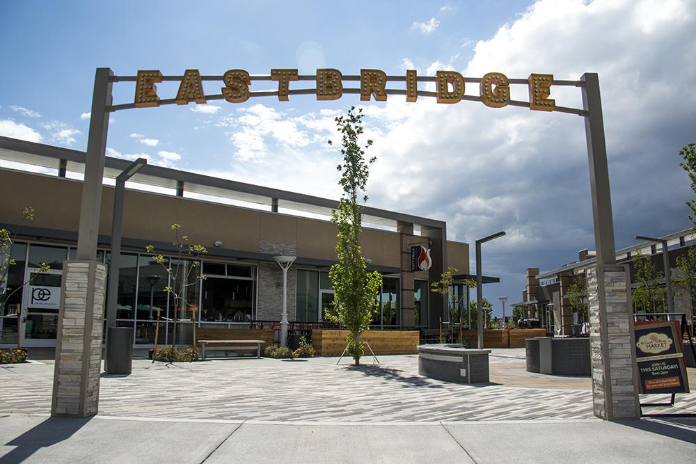 Eastbridge Town Center, April 3, 2017. (Kevin J. Beaty/Denverite)  eastbridge; stapleton; commerical real estate; restaurants; food; kevinjbeaty; denver; colorado; denverite;