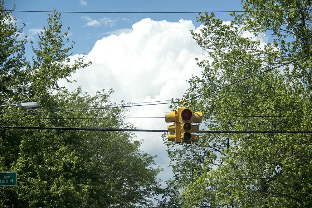 A nice day. (Kevin J. Beaty/Denverite)  weather; cowx; clouds; sunny day; kevinjbeaty; denver; denverite; colorado;