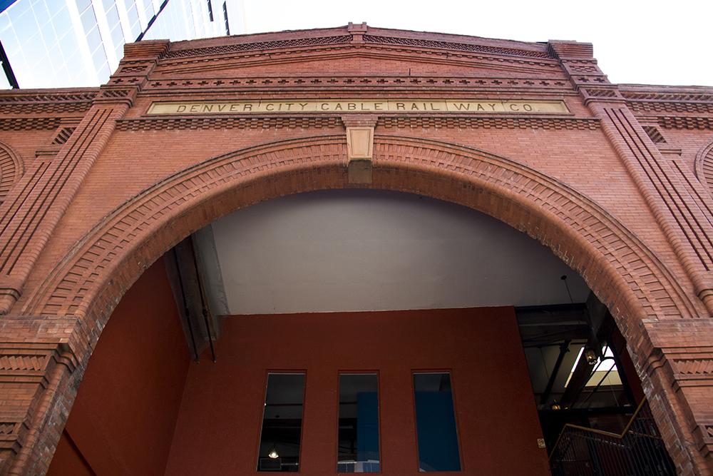 The Denver Cable Rail Way Company building. (Kevin J. Beaty/Denverite)  downtown; lodo; denver cable rail way company; kevinjbeaty; denverite; denver; colorado;