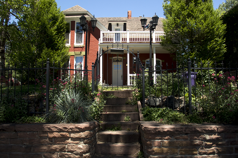 The Henri Foster House, 2533 W. 32nd Avenue, Highland. (Kevin J. Beaty/Denverite)  denverite; colorado; historic properties; residential real estate; kevinjbeaty; denver; highland;