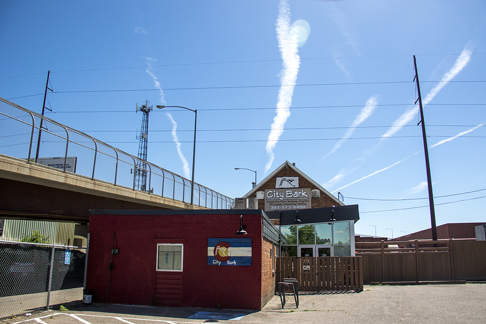 The Denver Woolen Mill, 2000 E. 8th Avenue, now City Bark, Baker. (Kevin J. Beaty/Denverite)  denverite; colorado; historic properties; residential real estate; kevinjbeaty; denver; auraria campus;