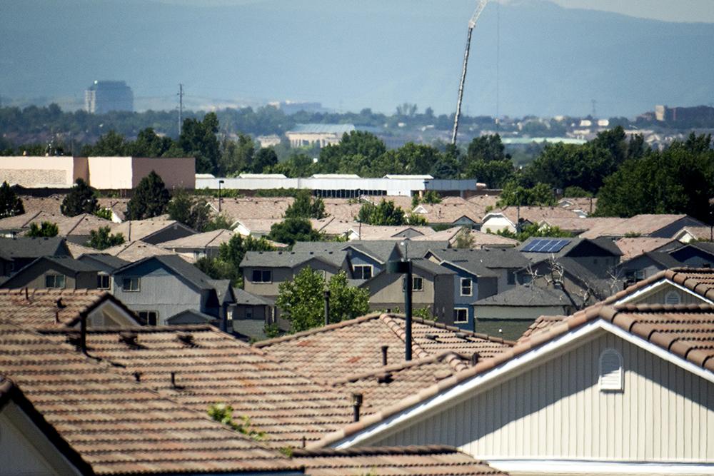Green Valley Ranch. (Kevin J. Beaty/Denverite)  green valley ranch; residential real estate; denver; denverite; colorado; kevinjbeaty; solar panels;