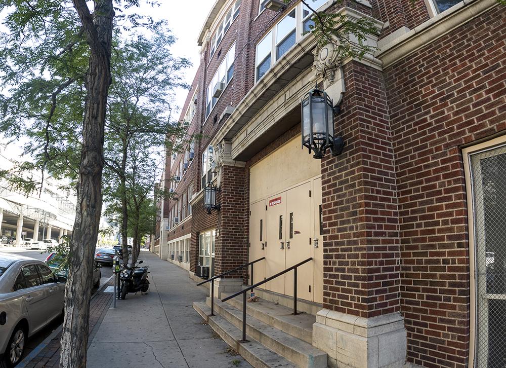 The old Emily Griffith Opportunity School downtown. (Kevin J. Beaty/Denverite)  emily griffith; kevinjbeaty; denver; denverite; colorado;