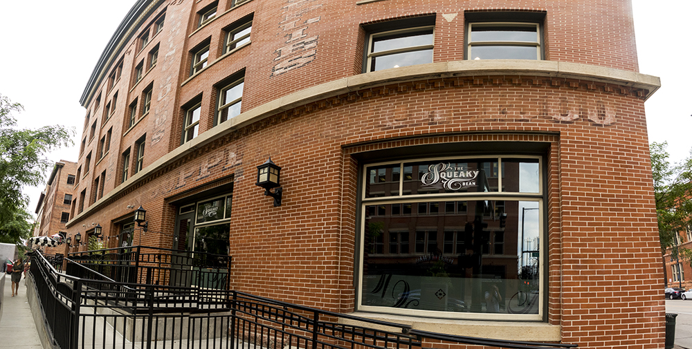 The Squeaky Bean, 1500 Wynkoop St. (Kevin J. Beaty/Denverite)  lodo; downtown; restaurants; commercial real estate; squeaky bean; kevinjbeaty; denver; colorado; denverite;