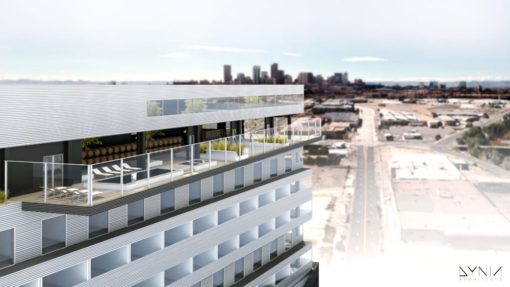 An artist's rendering of The Source Hotel. (Courtesy of Turner)
