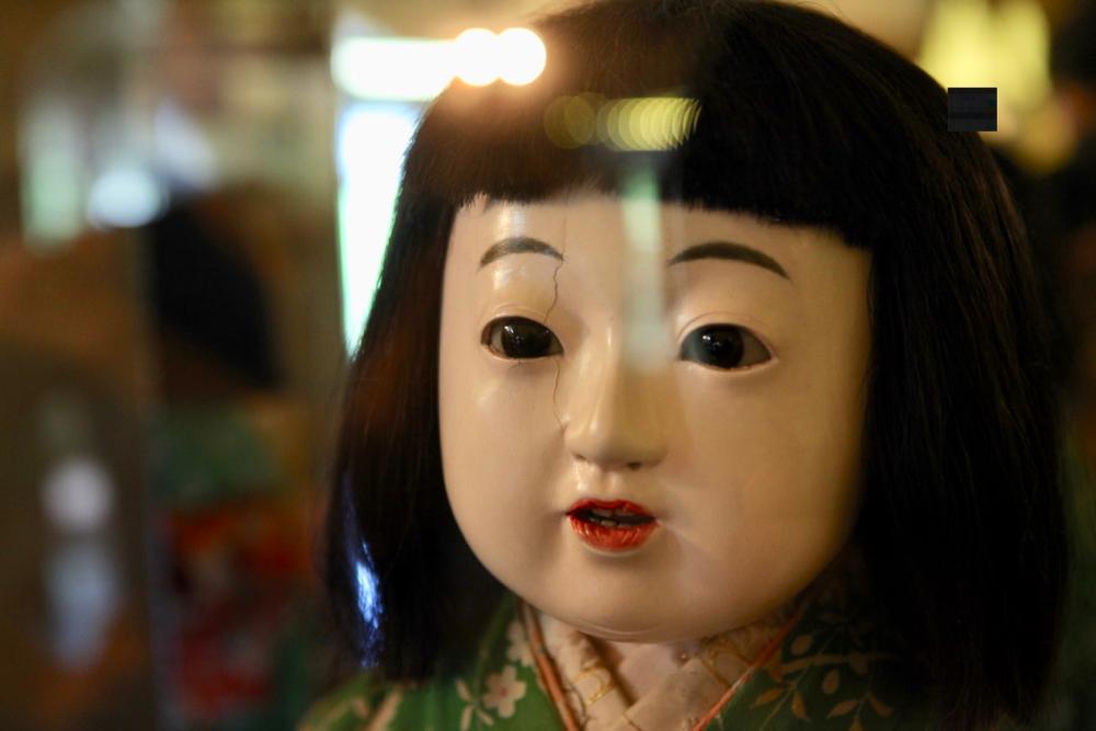 Miss Hamako Yokohama at The Denver Museum of Miniatures, Dolls and Toys. (Andrew Kenney/Denverite)
