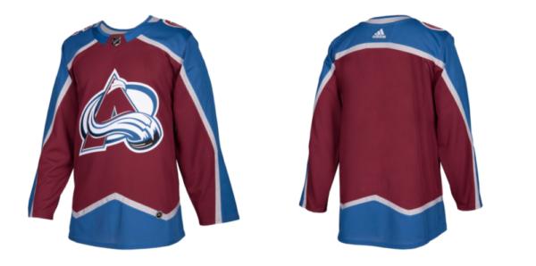 The Avalanche's new sweater. (Via Colorado Avalanche)