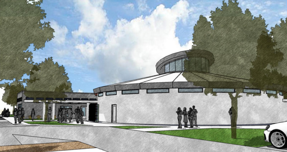A rendering of First Universalist Church of Denver, 4101 E. Hampden Ave. (Courtesy of First Universalist Church of Denver)