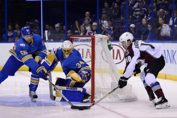 Sven Andrighetto will be back with the Avalanche on a two-year deal. (Jeff Curry/USA Today Sports)