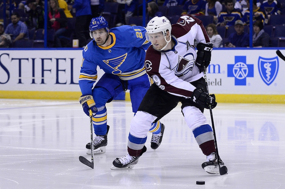Nathan MacKinnon and the Avalanche begin their season Oct. 5 in New York. (Jeff Curry/USA Today Sports)