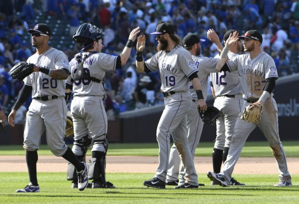 The Rockies are 17 games over .500. (David Banks/USA Today Sports)
