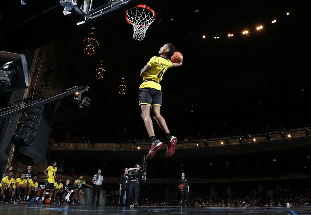 Yep, Terrance Ferguson can get up. (Brian Spurlock/USA Today Sports)