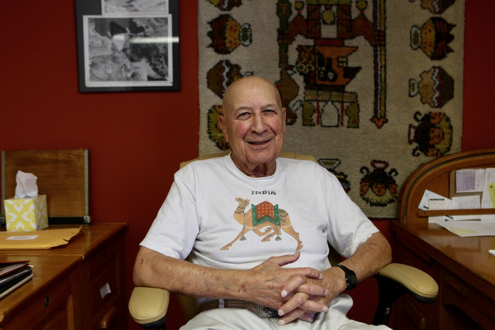 Jim Judd at his home. (Andrew Kenney/Denverite)
