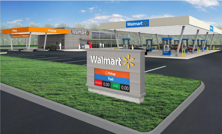 Walmart Pickup with Fuel, 1650 E. 104th Ave. in Thornton. (Courtesy of Walmart)