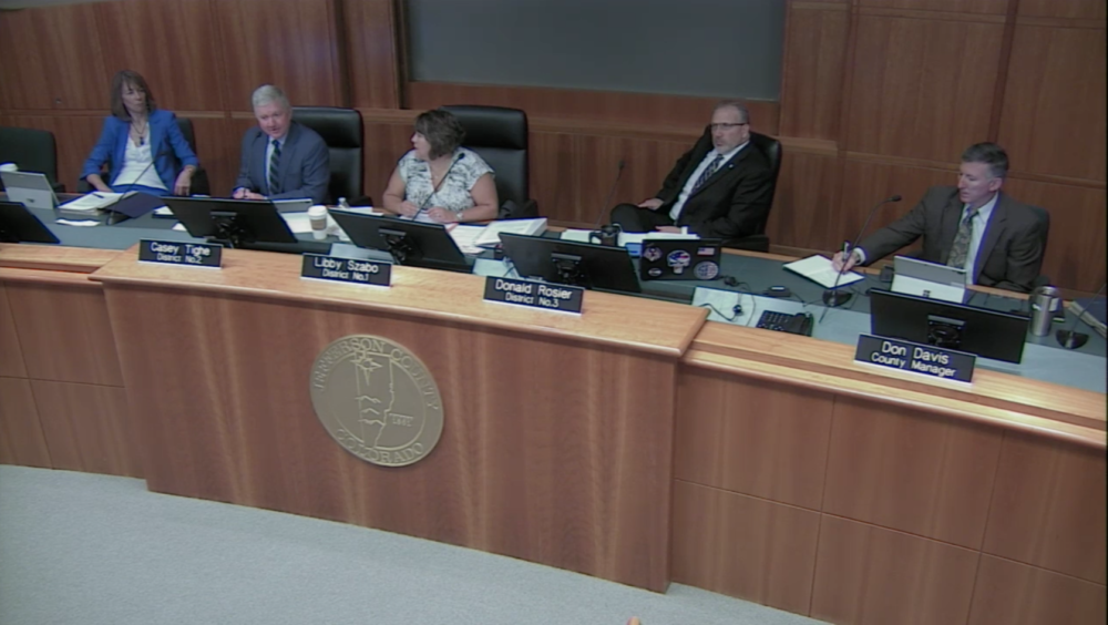 The Jefferson County Board of Commissioners. (Jefferson County)