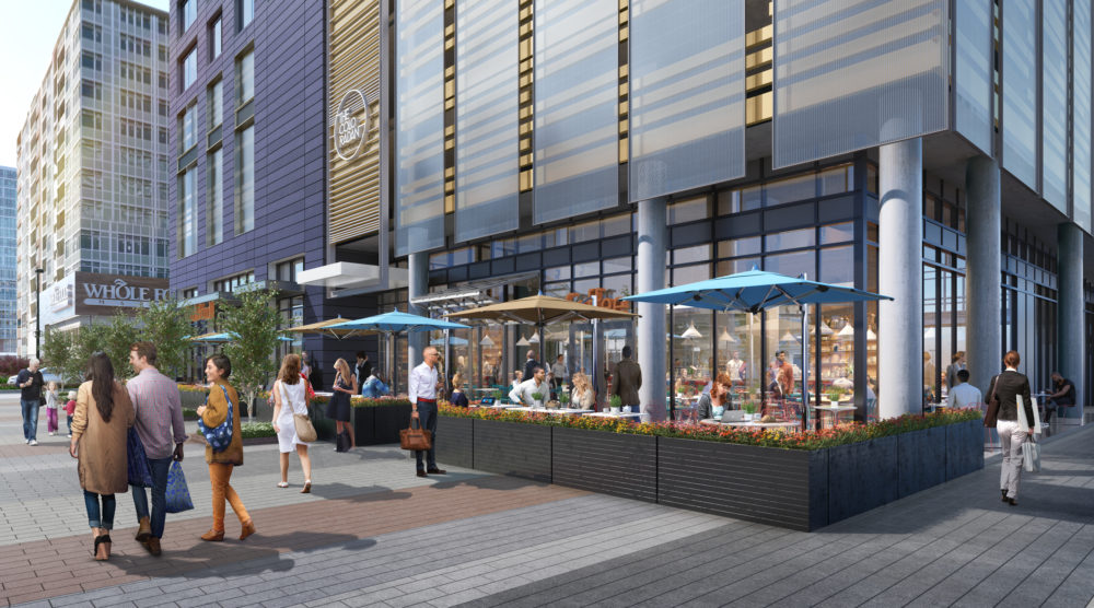 A rendering of the exterior of The Coloradan. (Courtesy East West Partners)