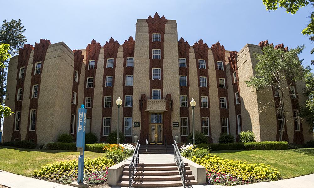 The Mullen Building on the Saint Joseph Hospital Campus, built by Temple Buell. (Kevin J. Beaty/Denverite)  saint joseph hospital; temple buell; architecture; city park west; denver; colorado;
