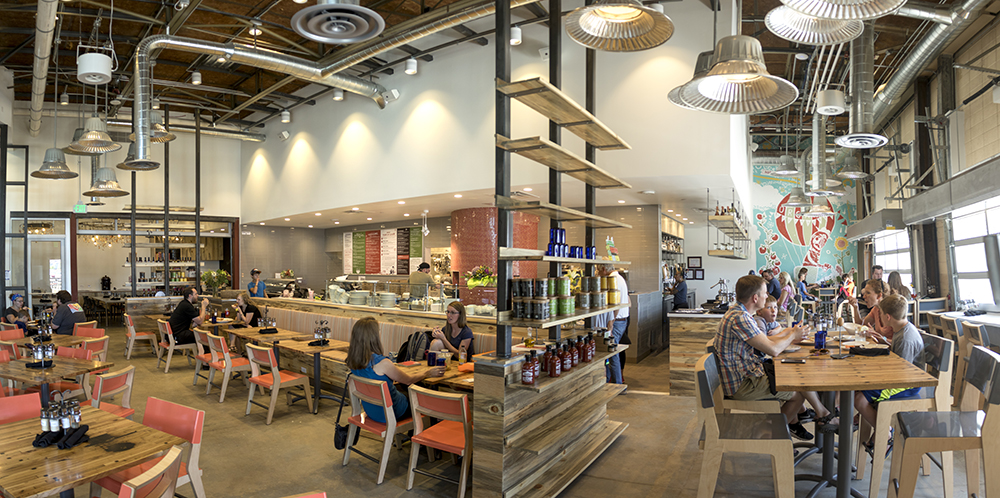 Sazza Restaurant at the Stanley Marketplace. (Kevin J. Beaty/Denverite)  aurora; stanley marketplace; denverite; colorado; kevinjbeaty;