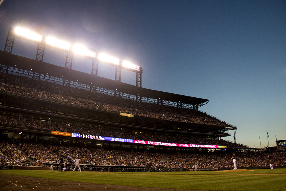 Colorado Rockies vs Chicago White Sox, July 8, 2017. (Kevin J. Beaty/Denverite)  colorado rockies; baseball; coors field; denver; denverite; colorado; kevinjbeaty;