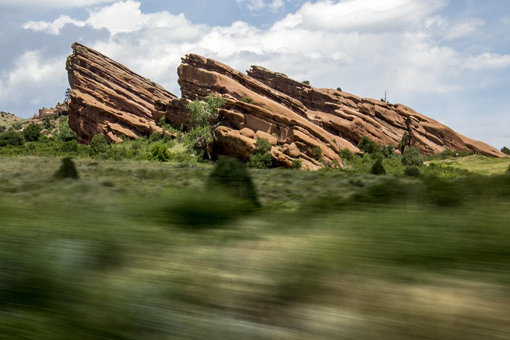 Red Rocks, July 11, 2017. (Kevin J. Beaty/Denverite)  red rocks; Civilian Conservation Corps; history; kevinjbeaty; morrison; colorado; denverite;
