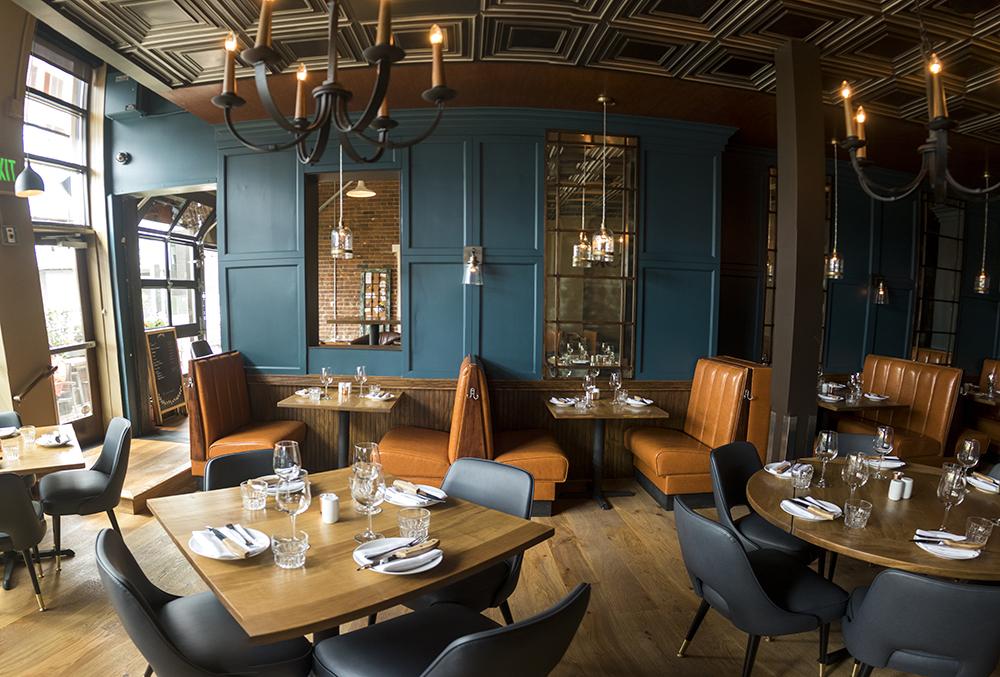 LoHi Steakbar, post remodel, July 14, 2017. (Kevin J. Beaty/Denverite)  highland; lohi steakbar; restaurant; food; nightlife; kevinjbeaty; denver; denverite; colorado;