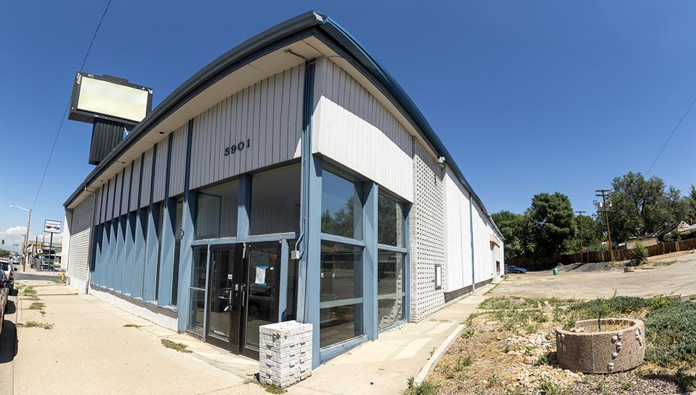 5901 E. Colfax Ave. (Kevin J. Beaty/Denverite)  denver; colorado; kevinjbeaty; denverite; south park hill; development;