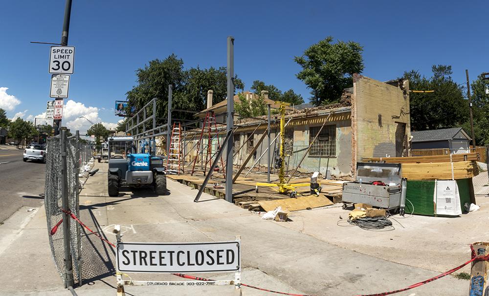 3401 E. Colfax Ave. (Kevin J. Beaty/Denverite)  denver; colorado; kevinjbeaty; denverite; colfax; development;
