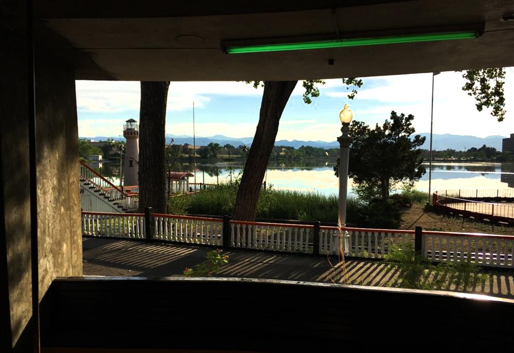 Lakeside Amusement Park. (Erica Meltzer)  lakeside amusement park; rides; denver; colorado; denverite;