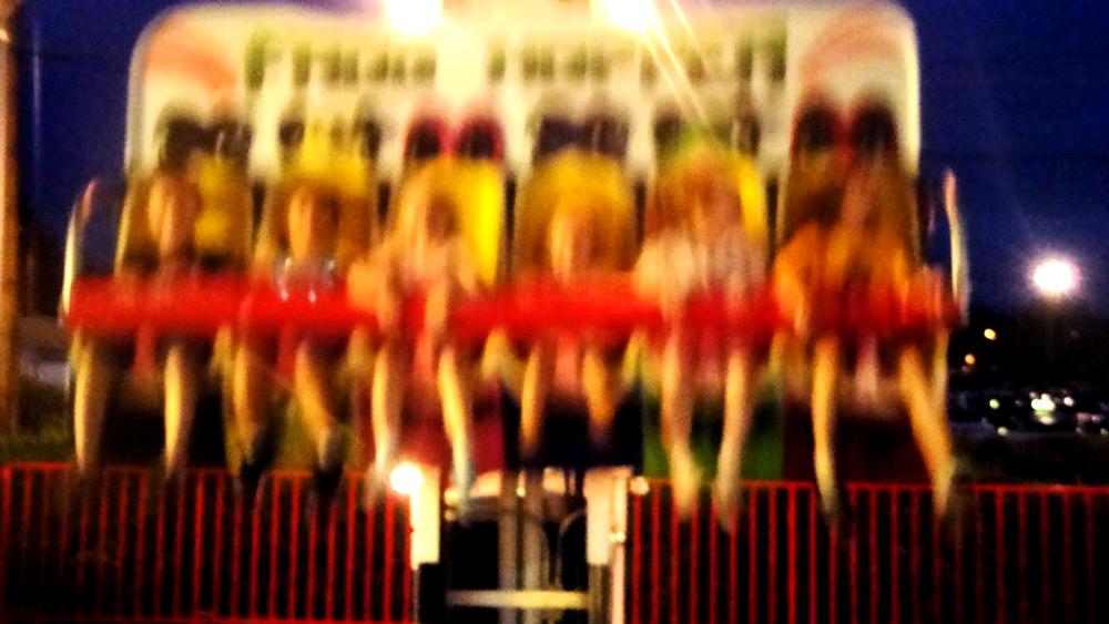 Lakeside Amusement Park. (Erica Meltzer)  lakeside amusement park; rides; denver; colorado; denverite; rollercoaster;