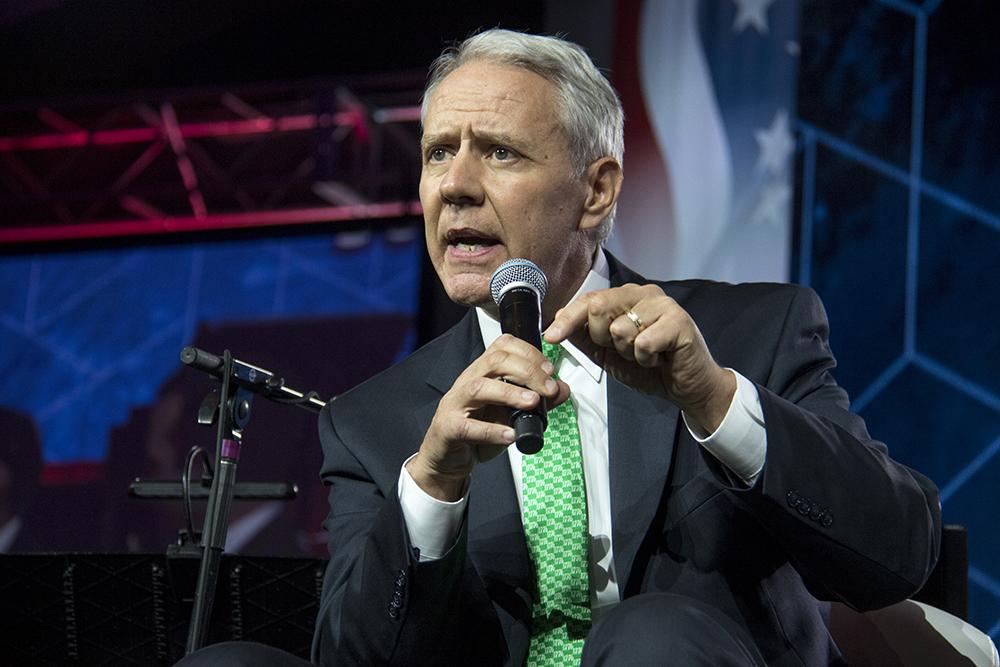 U.S. Rep Ken Buck speaks at the Western Conservative Summit, July 22, 2017. (Kevin J. Beaty/Denverite)  western conservative summit; copolitics; politics; denver; colorado; denverite; kevinjbeaty;