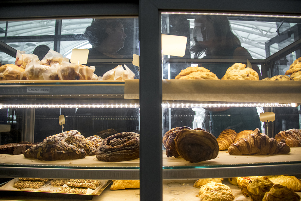 Pastries for sale at The Local(ish) Market at Union Station, July 26, 2017. (Kevin J. Beaty/Denverite)  union station; food; restaurant; beer; denver; colorado; denverite; kevinjbeaty;