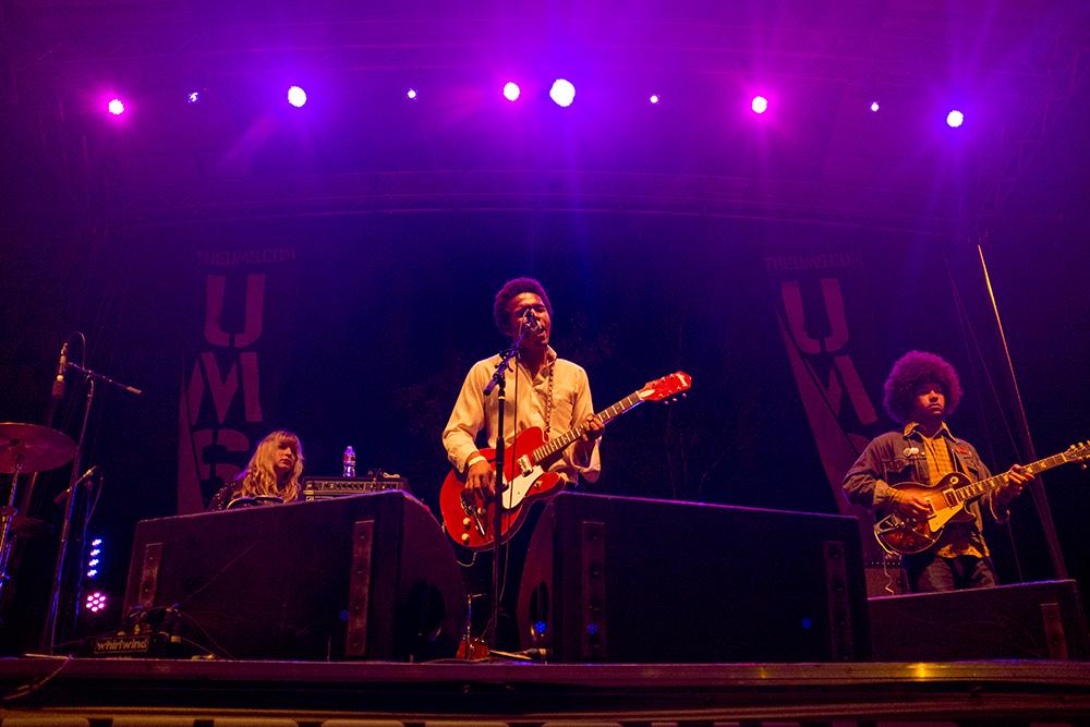 Benjamin Booker plays the Underground Music Showcase main stage, July 31, 2017. (Kevin J. Beaty/Denverite)  denver; ums; denverite; colorado; music; south broadway; bars; nightlife; entertainment;
