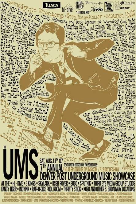 The 2007 UMS poster. (Courtesy of John Moore)