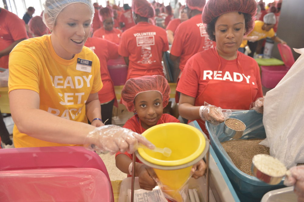 2017 Summer of service to seniors in Memphis, Tennessee. (Brandon Dill/AP Images for AARP Media)