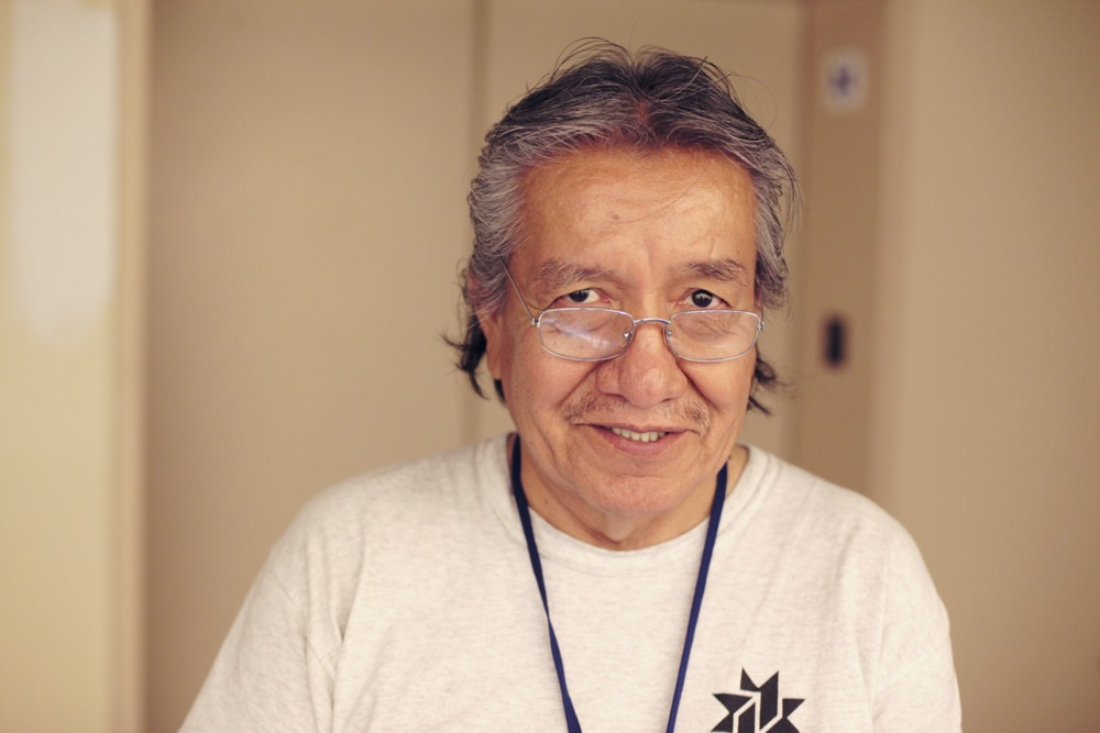 Rick Singer, 59, has found six months of work through Denver Day Works. (Andrew Kenney/Denverite)