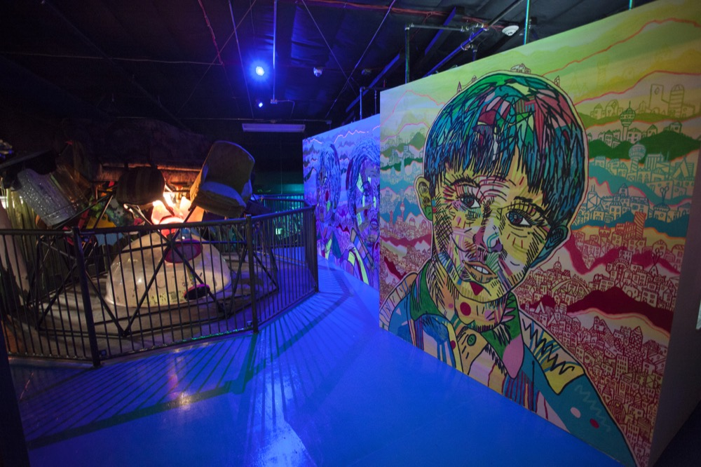 "Meow Wolf's ""House of Eternal Return"" exhibit in Santa Fe, New Mexico. (Courtesy of Meow Wolf)"