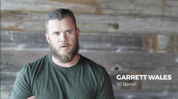 Garrett Wales, owner of 10 Barrel Brewing Co., responds to new independent label from the Brewers Association. (Courtesy of Anheuser-Busch)
