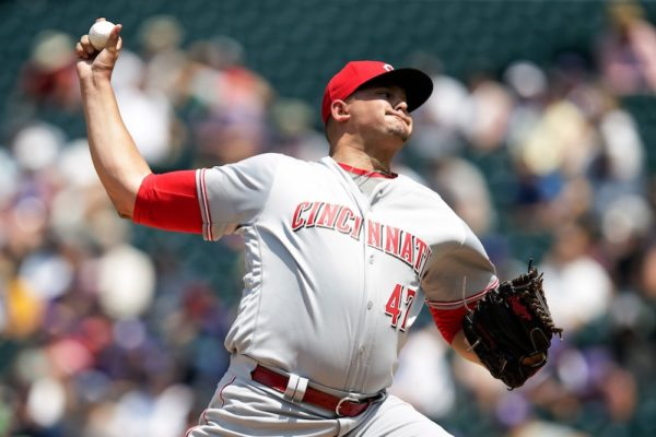 Sal Romano earned his first major league win Thursday. (Isaiah J. Downing/USA Today Sports)