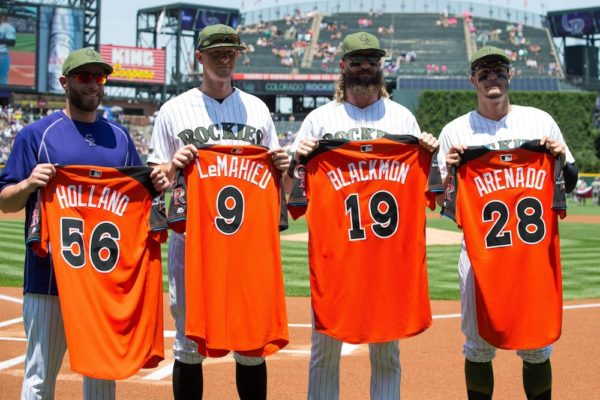 The Rockies have four All-Stars for the first time in franchise history. (Isaiah J. Downing/USA Today Sports)