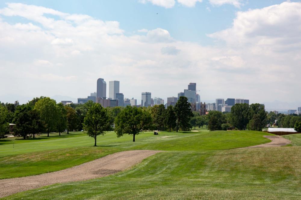 City Park Golf Course. (Goshen Carmel for Denverite) city park; golf; golf course; lawsuit; flood control; stormwater; detention