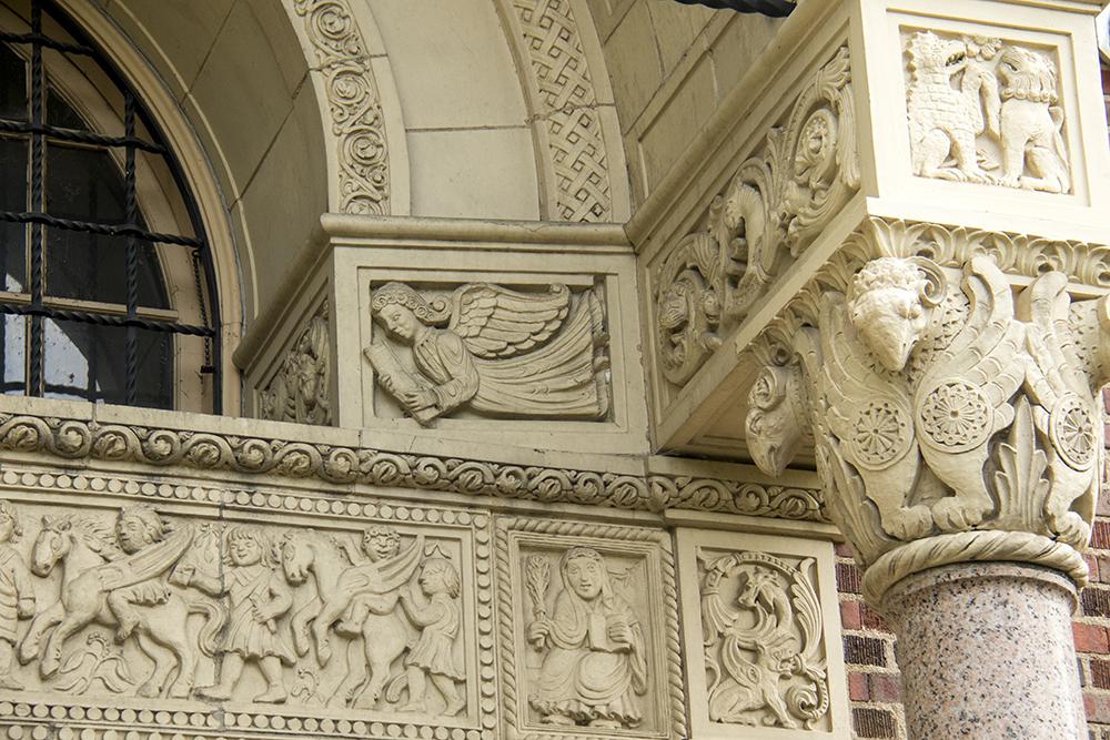 South High School. (Kevin J. Beaty/Denverite)  high school; architecture; denver; colorado; denverite; kevinjbeaty; washington park;