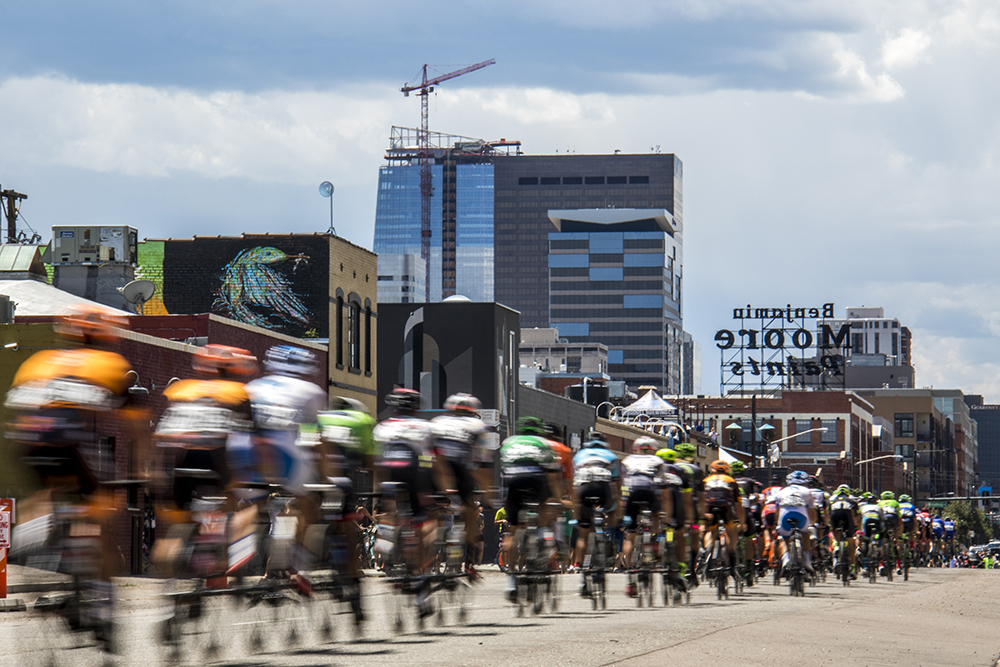 The men's final criterium at Velorama Colorado, Aug. 13, 2017. (Kevin J. Beaty/Denverite)  denver; five points; rino; colorado classic; velorama; bicycle; bike; race; denver; colorado; denverite; kevinjbeaty;
