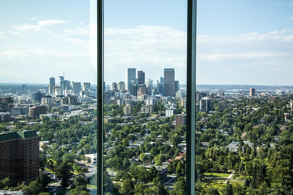 A view of downtown Denver. (Kevin J. Beaty/Denverite)