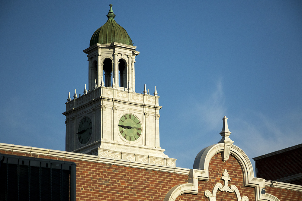 East High School. (Kevin J. Beaty/Denverite)  denver; colorado; high school; denverite; kevinjbeaty;