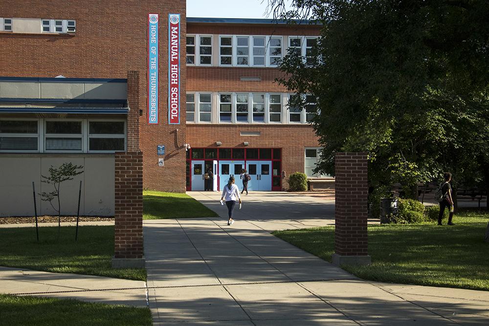 Manual High School. (Kevin J. Beaty/Denverite)
