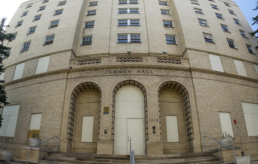 Tammen Hall at St. Joseph Hospital. (Kevin J. Beaty/Denverite)  st joseph hospital; denver; colorado; kevinjbeaty; denverite;