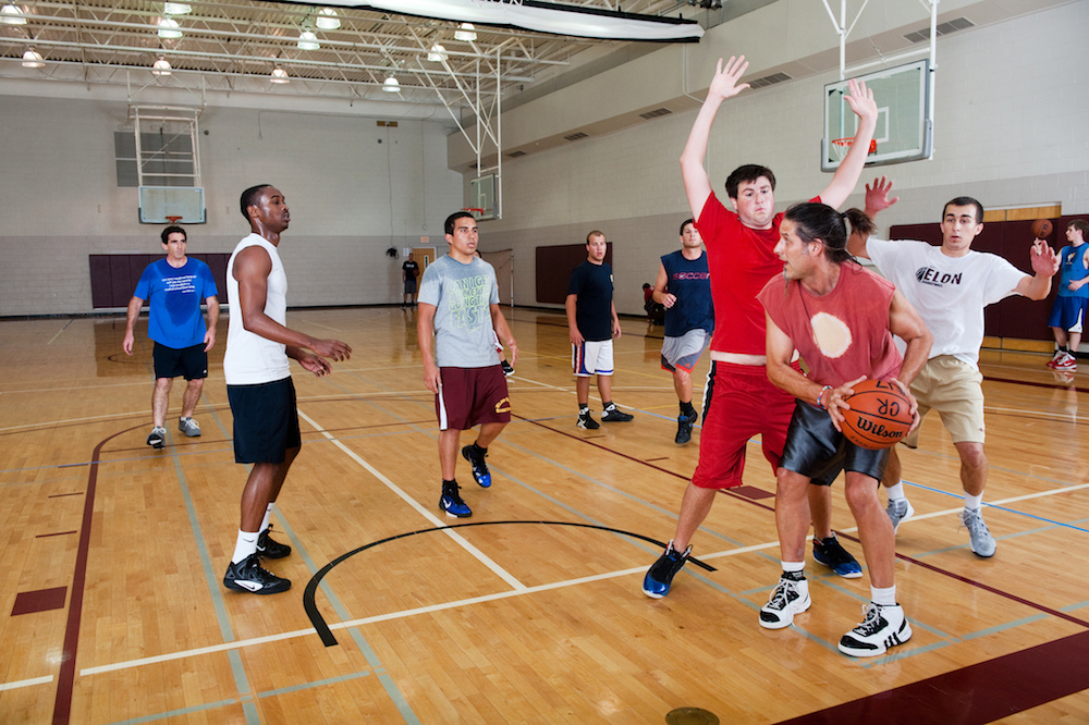 Pickup hoops games are usually scored by ones and twos. (Creative commons/Flickr)