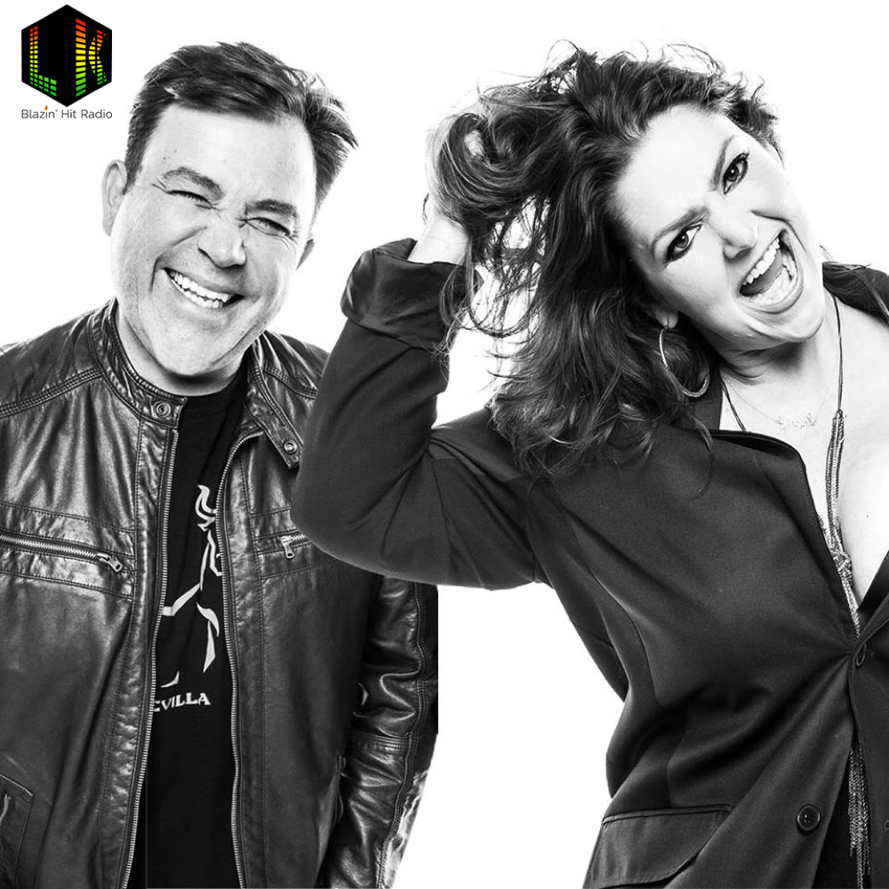 "Colorado radio hosts Larry Ulibarri and Kathie J unveil new uncensored radio show ""Larry & Kathie J's Blazin' Hit Radio."" (Courtesy of The Green Solution)"