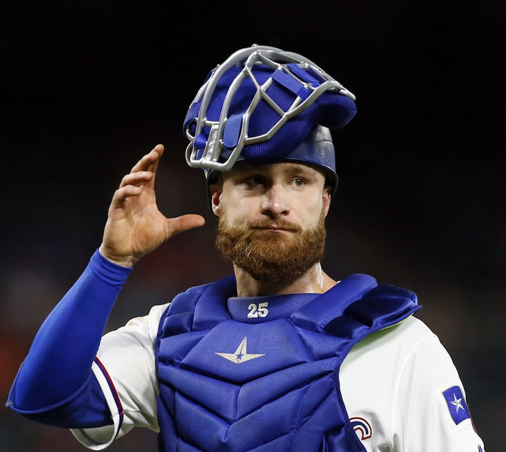 Two-time All-Star Jonathan Lucroy has struggled at the plate this season. (Tim Heitman/USA Today Sports)