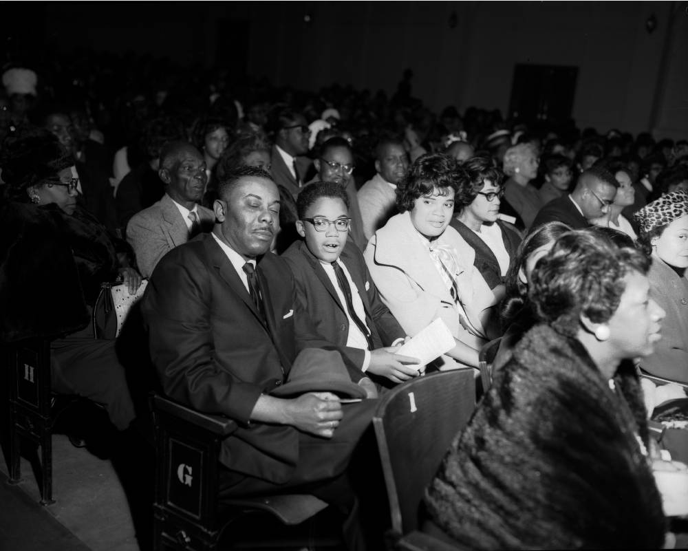 A Links Club function at a theater in Denver, likely in the 1950s. (Burnis McCloud/Western History & Genealogy Dept./Denver Public Library)